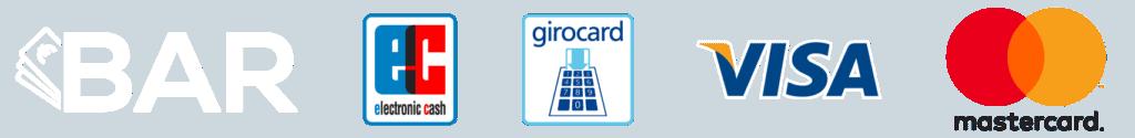 Selbstschraubereck Mietwerkstatt Zahlung mit EC Girocard Visa Mastercard