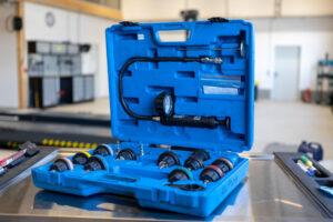 Kuherabdrücksystem mieten in Mietwerkstatt