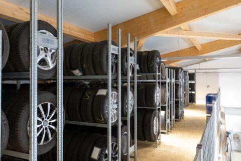 Reifenlager zur Reifeneinlagerung Hallbergmoos Flughafen Muenchen